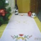 steelsteekloper kerstklokken met hart, wit