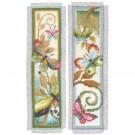 borduurpakket boekenlegger (2 st.) decoratieve vlinders