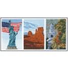 borduurpakket amerika drieluik