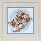 borduurpakket tijger met jongen