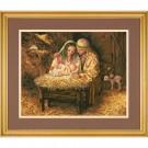 """borduurpakket """"kerstnacht"""""""