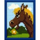 kruissteekwandkleed paard