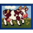 kruissteekwandkleed koe