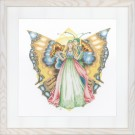 borduurpakket vlinder duo